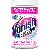 Vanish Crystal White Oxi Action Remover Powder 1.5kg Ref RB500076