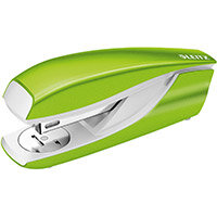 Leitz NeXXt WOW Stapler Half Strip Metal 30 sheet Green Ref 55021054