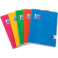 Oxford Soft Touch Stapled A5 Assorted Colours Ref 400090116 Pack of 5