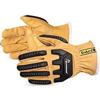 Superior Glove Endura Oilbloc Anti-Impact Driver Glove Small Tan Ref SU378GKGVBS
