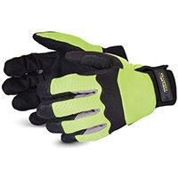 Superior Glove Clutch Gear Hi-Vis Mechanics L Yellow Ref SUMXHV2PBL