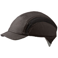 Centurion Airpro Baseball Bump Cap Reduced Peak Black Ref CNS38BLRP