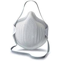 Moldex FFP2V Mask with ActivForm Seal White Ref M2400 Pack of 20