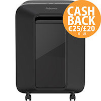 Fellowes LX201 Shredder Micro Cut P-5 Black Ref 5160001