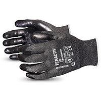 Superior Glove Tenactiv Filament Fibre Lev-5 Cut-Resist 5 Black Ref SUS18TAFGFN05