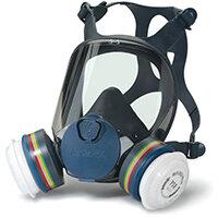 Moldex ABEK1P3 Full Face Mask Lightweight Peripheral Vision Medium Grey Ref M9432