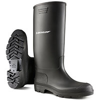 Dunlop Pricemastor Wellington Boot Size 8 Black Ref BBB08