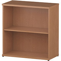 Low Bookcase with 1 Shelf H800mm Beech