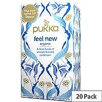 Pukka Feel New Organic Tea Bags (Pack of 20) Ref 45060519144100