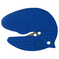 Pacific Handy Cutter Raze NSF Bag Cutter Tape Splitter Blue Ref CBC-346B Pack of 50