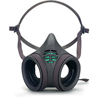 Moldex Mask Body Twin Filter Low Profile Large Grey Ref M8003