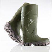 Bekina Steplite XCI Full Safety Wellington Boots Size 10 Green Ref BNXC900-917310