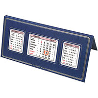 At-A-Glance 2020 Desk Calendar Three Months to View Leatherette Binding 250x130mm Assorted Ref 3S 2020