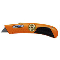 Pacific Handy Cutter Quickblade Springback Knife Heavy Duty Orange Ref QBS-20