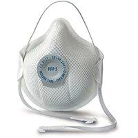 Moldex FFP2V Half Mask ActivForm Seal and DuraMesh Shell White Ref M2485 Pack of 20