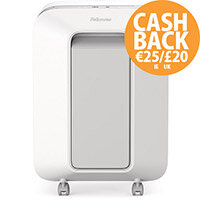 Fellowes LX201 Shredder Micro Cut P-5 White Ref 5160101
