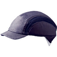 Centurion Airpro Baseball Bump Cap Reduced Peak Navy Blue Ref CNS38NBRP
