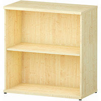 Low Bookcase with 1 Shelf H800mm Maple