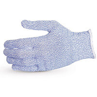 Superior Glove Sure Knit Cut-Resistant Food Industry Glove L Blue Ref SUS10SXBL