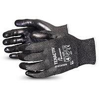 Superior Glove Tenactiv Filament Fibre Lev-5 Cut-Resist 9 Black Ref SUS18TAFGFN09