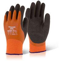 Wonder Grip Thermo Plus Glove Large Orange Pack of 12 Ref WG338L