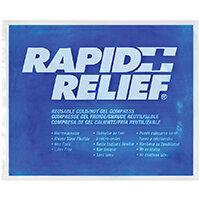 Rapid Relief Reusable Hot/Cold Gel Compress C/W Contour Gel 9in x 11in Ref RA12290