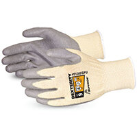 Superior Glove Dexterity PU Palm-Coated Cut-Resistant 9 Grey Ref SUS13KFGPU09