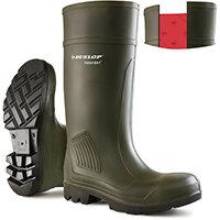 Dunlop Purofort Professional Wellington Boot Size 9 Green Ref D46093309