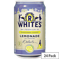 R-Whites 330ml Cloudy Lemonade Drink Pack of 24