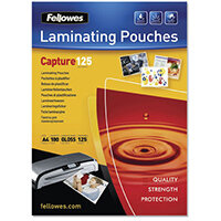 Fellowes Laminating Pouches 250 Micron A4 Ref 5307407 Pack of 100