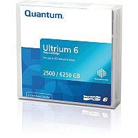 Quantum LTO-6 Data Tape 2500GB Native/ 6.25TB Compressed