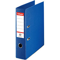 Esselte No.1 Power A4 Lever Arch File PP 500 Sheets 75mm Spine Blue Ref 879991