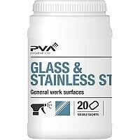 PVA Glass & Stainless Steel Dissolving Cleaner Sachets Citrus [Pack 20] Ref 4018018