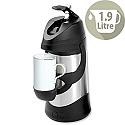 Pump Vacuum Jug 1.9 Litre Stainless Steel Dishwasher Safe