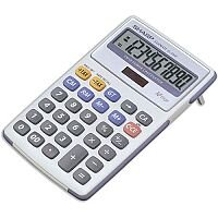 Sharp Desktop Calculator Tax  Battery/Solar-power EL334FB