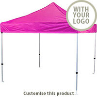 3m x 3m Aluminium Prolite Instant Shelter 192965 - Customise with your brand, logo or promo text