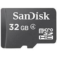 SanDisk - flash memory card - 32 GB - microSDHC