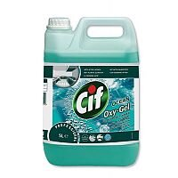 Cif Oxygel Multipurpose Cleaner Professional Active Oxygen Ocean Spray 5 Litre. Includes Active Oxy-Gel & Micro-Bubbles To Easily Lift Dirt. Ideal For Schools, Colleges, Offices, Homes & More.