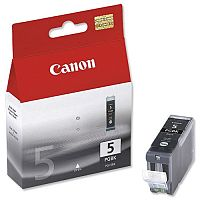 Canon PGI-5 PGBK ( 0628B001 ) Pigment Black Ink Cartridge Original