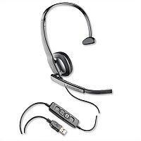 Plantronics Blackwire 210 Headset DSP Wideband HiFi Noise-cancelling
