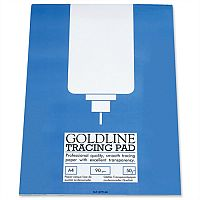 Goldline Professional A4 Tracing Pad 50 Sheets GPT1A4Z