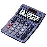 Casio MS100TER Calculator Battery Solar Power 10 Digit