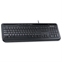 Microsoft 600 Wired USB Keyboard Black