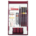 Rotring Rapidograph College Set with 3 Pens 0.25/0.35/0.5mm 1 Mechanical Pencil 0.5mm S0699530