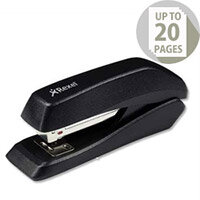 Rexel Gemini Stapler Half Strip Metallic Black