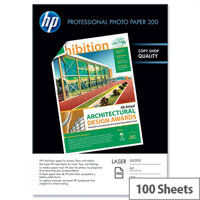 HP A4 Professional Laser Glossy Photo Paper 200gsm (Pack of 100)