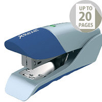 Rexel Gazelle Stapler Half Strip Metallic Blue