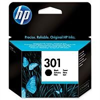 HP 301 Black Ink Cartridge – 3ml Capacity, Approx 190 Page Yield, Compatible With HP Deskjet Printers, Eco-Friendly & Fade and Water Resistant (CH561EE)