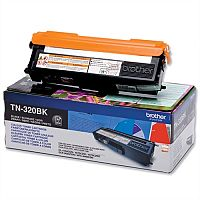 Brother TN-320BK Black Laser Toner Cartridge TN320BK