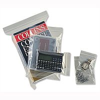 Resealable Clear Minigrip Bags 100x140mm Pack of 1000 - Clear re-sealable bags - Made of transparent plastic for clear view of contents - Interlocking seal for secure closure